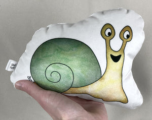 small snail plushie