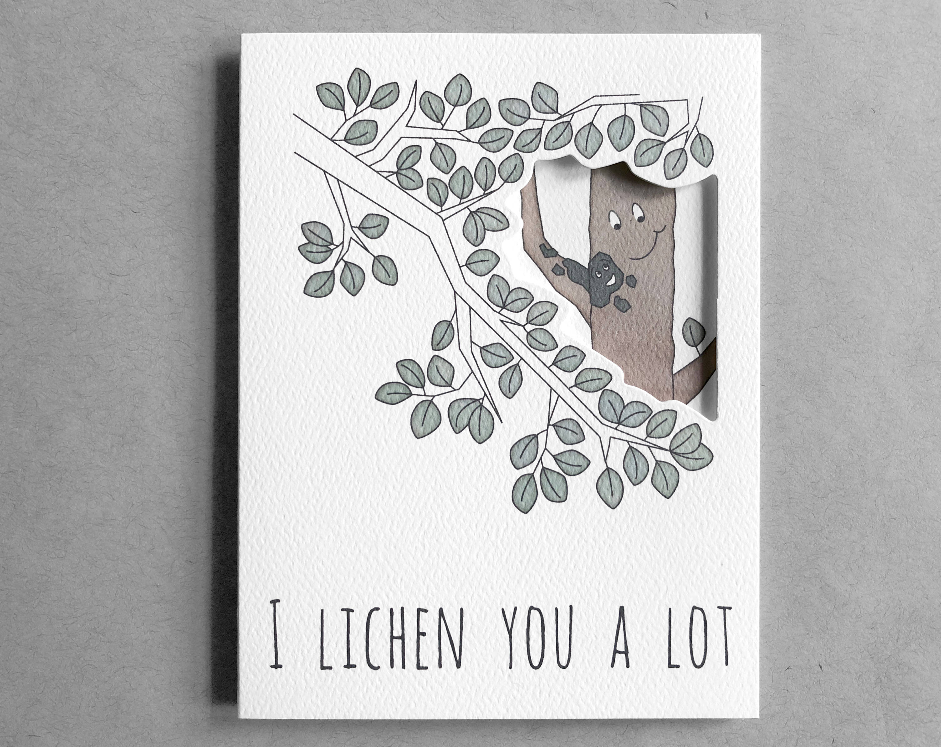 lichen love card