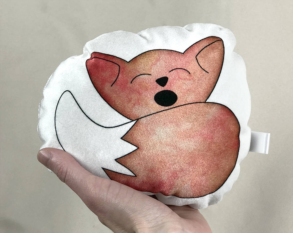 small fox plushie