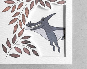 pterodactyl thank you card