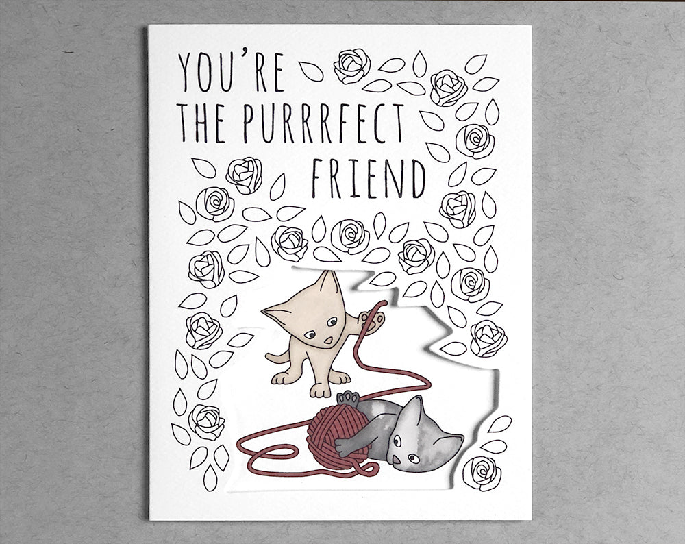 cat everyday card