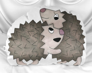 large hedgehog plushie