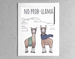 llama everyday card