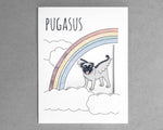 pug everyday card