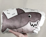 large shark plushie