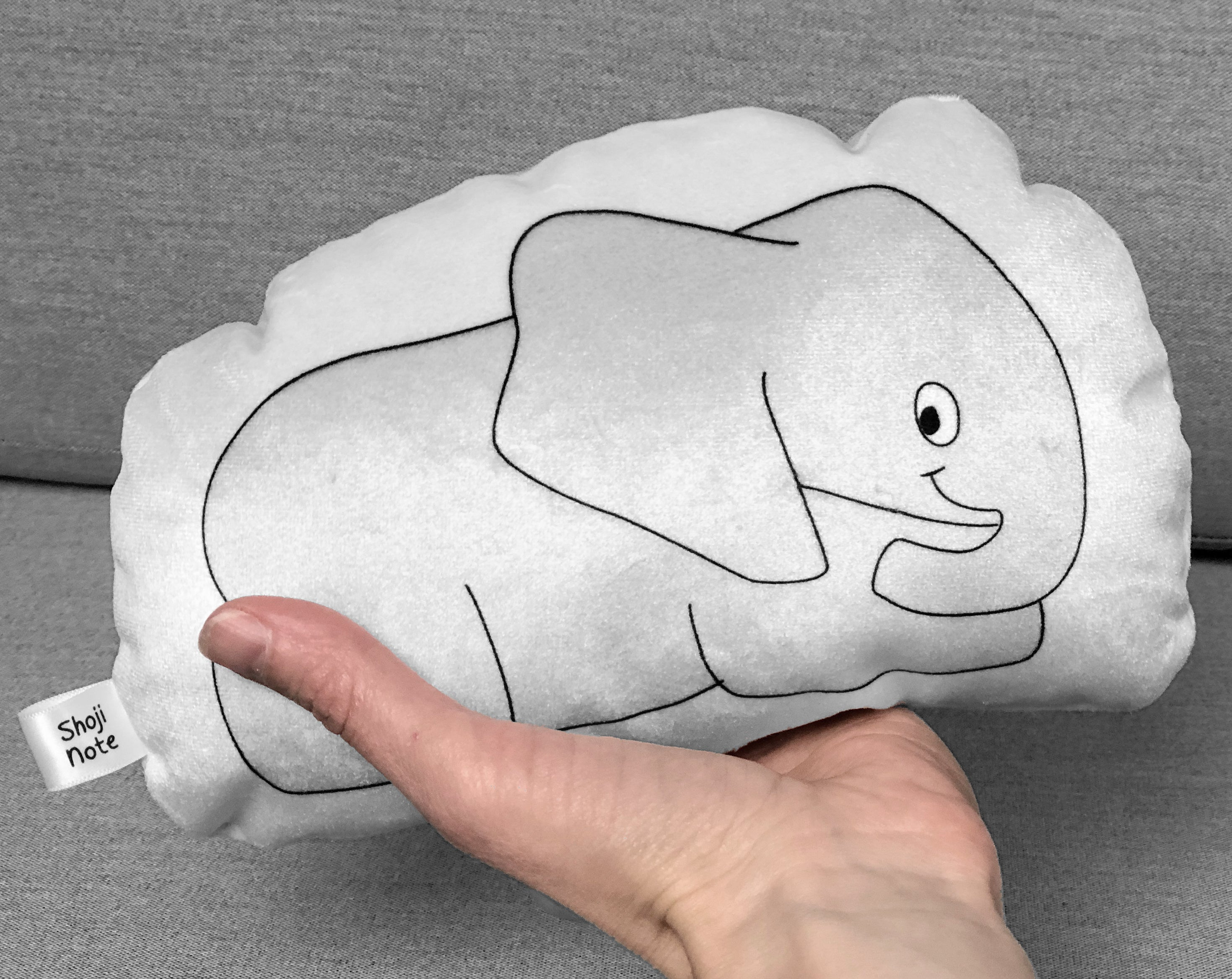 small elephant plushie