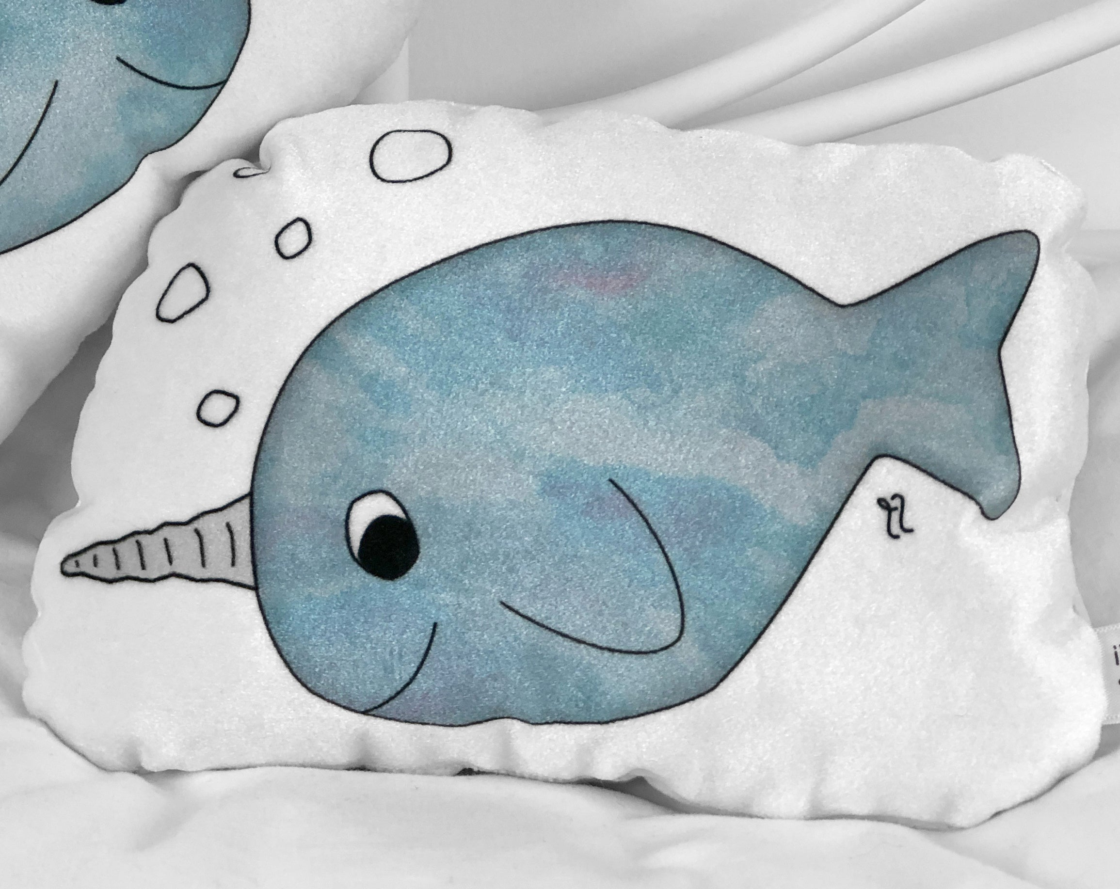 small narwhal plushie