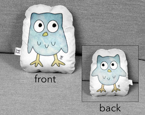 small owl plushie