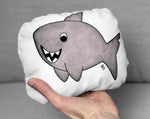 Small shark plushie