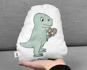 small t-rex plushie