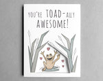 toad Valentine's Day card