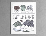 succulent everyday card