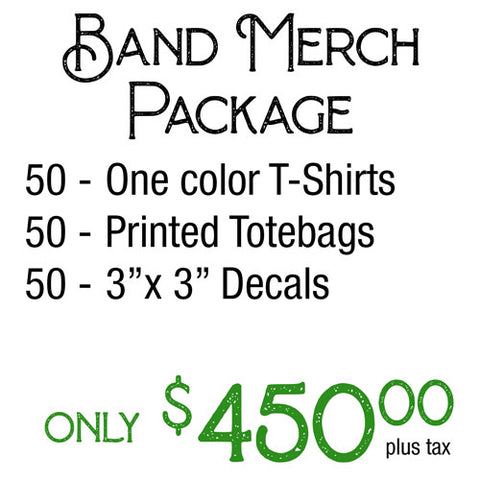 Band Merch Package