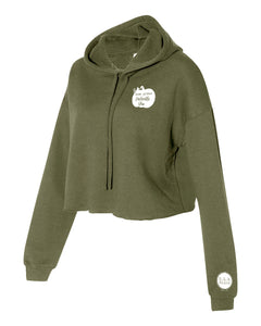 S.L.R. Salon Home Grown Cropped Hoodie