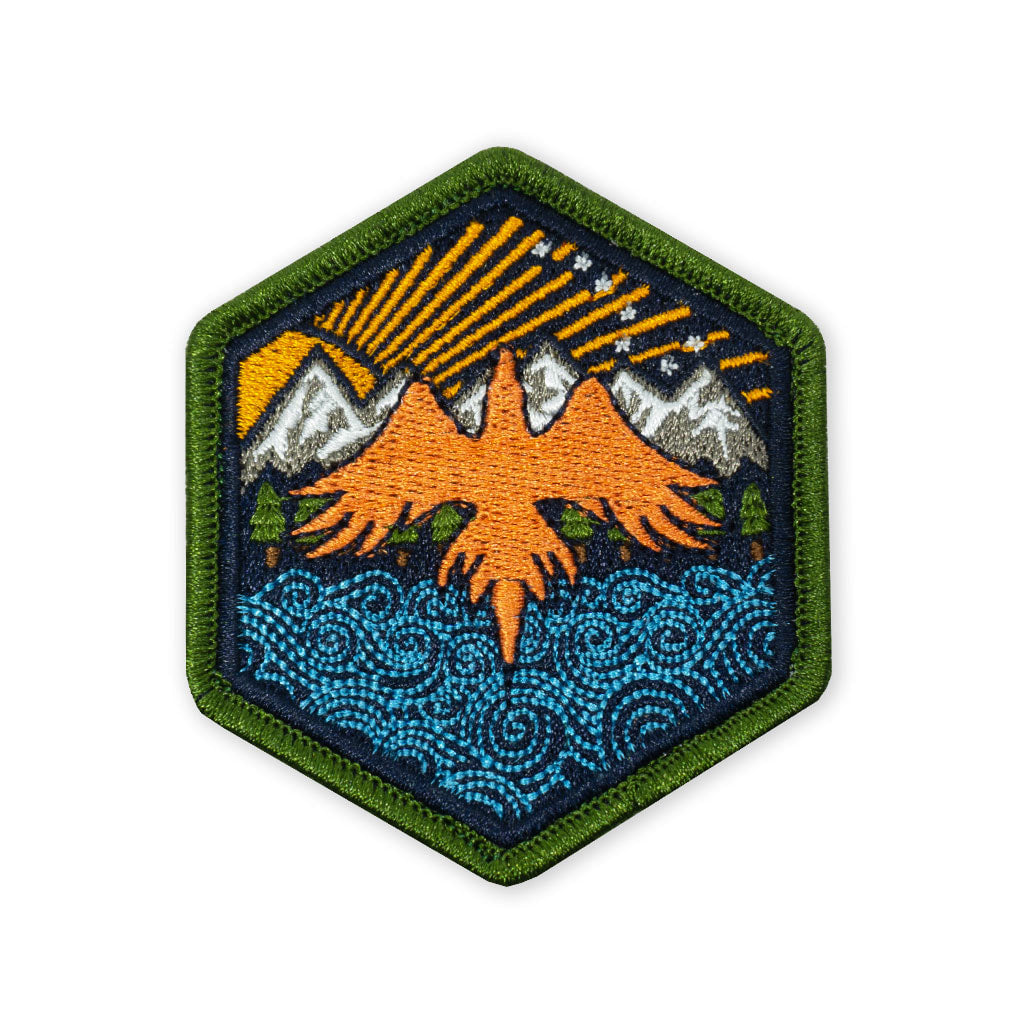 Prometheus Design Werx X FlockFam collaboration patch