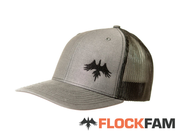 Grey Retro Trucker 2 Tone cap