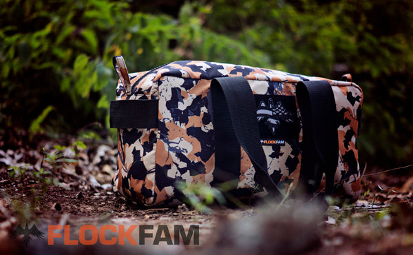 FlockFam reversed patriot Raven (subdued)