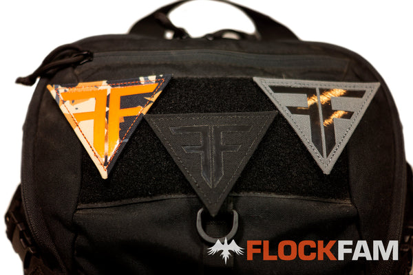 FlockFam Triangle Laser Cut Patches PRE-ORDER