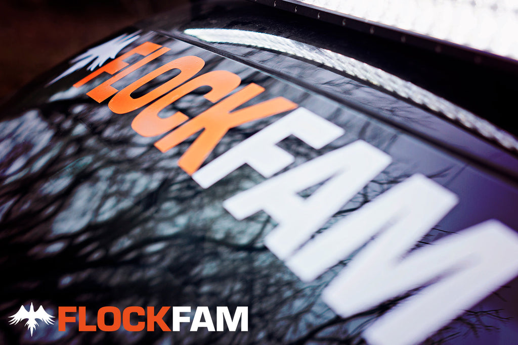 FlockFam Windshield Banner