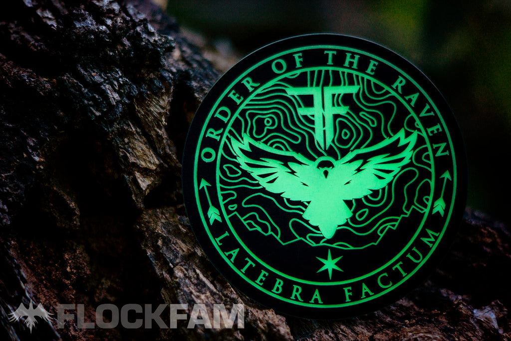 Order of the Raven Glow Patch **PREORDER**