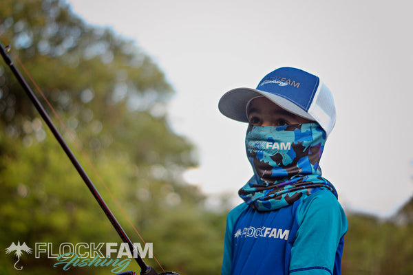FlockFam Fishing Hat/Gaiter set