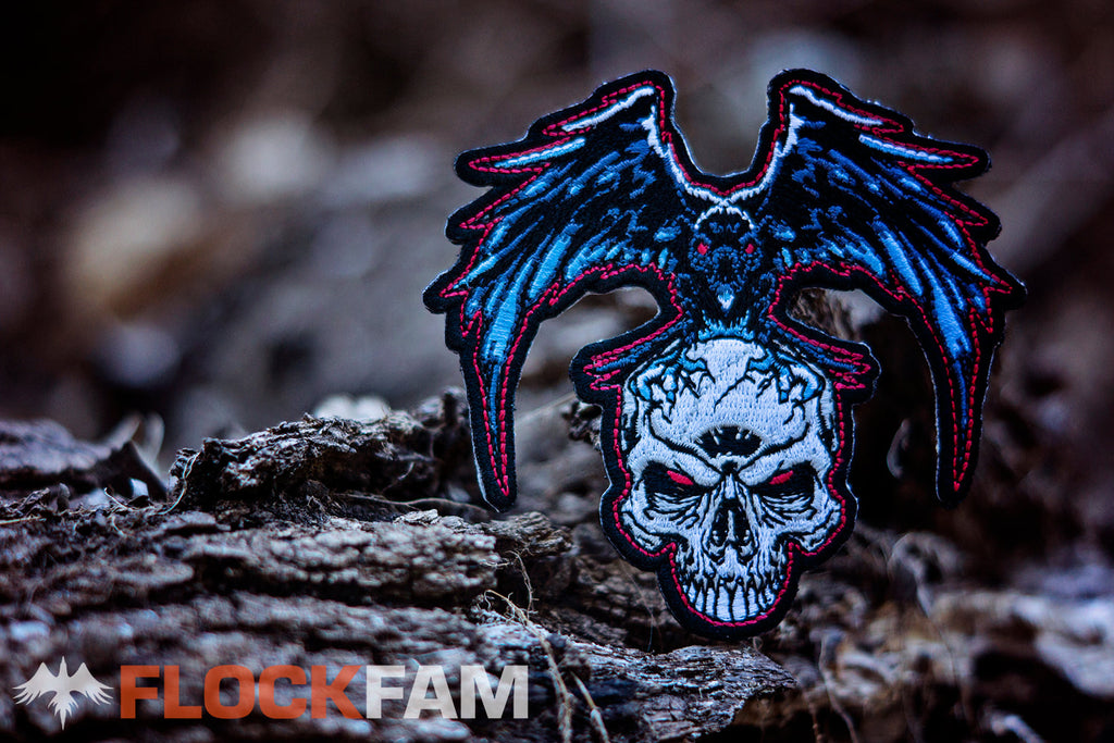 Dan's Skinz X FlockFam collaboration patch