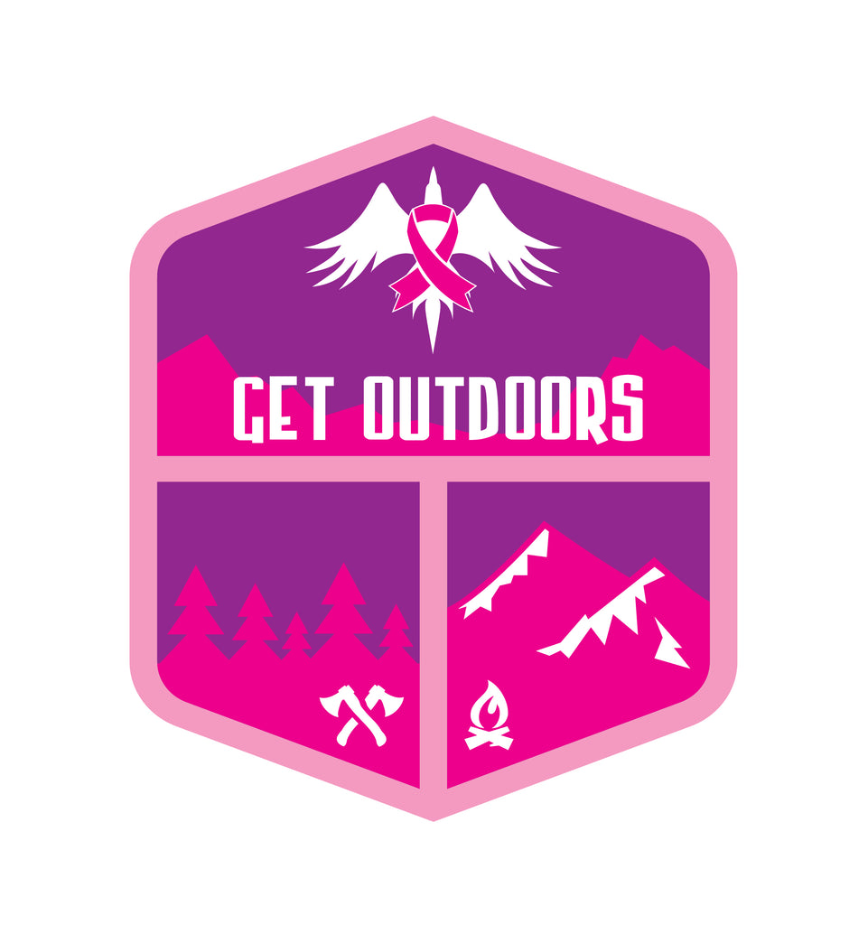 Get Outdoors Patch Breast Cancer Awareness Special (BCA)