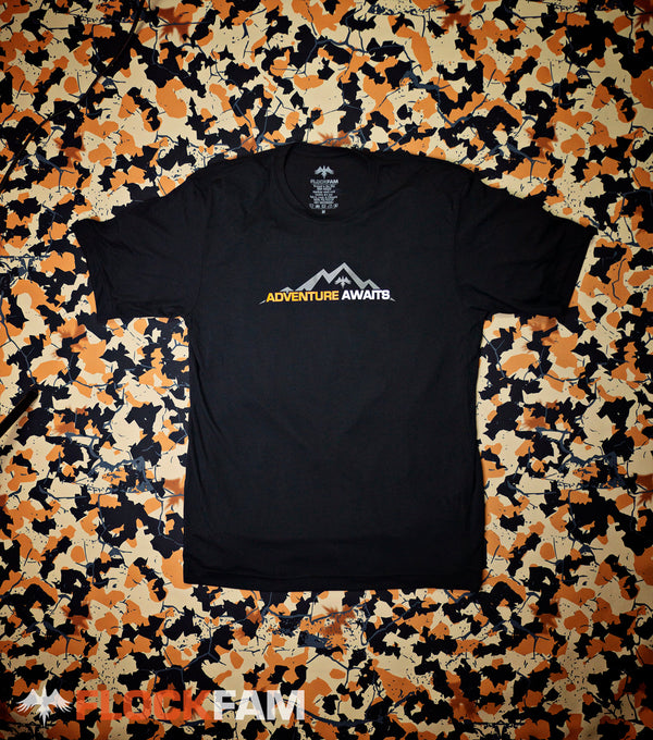 Adventure Awaits Performance Tee