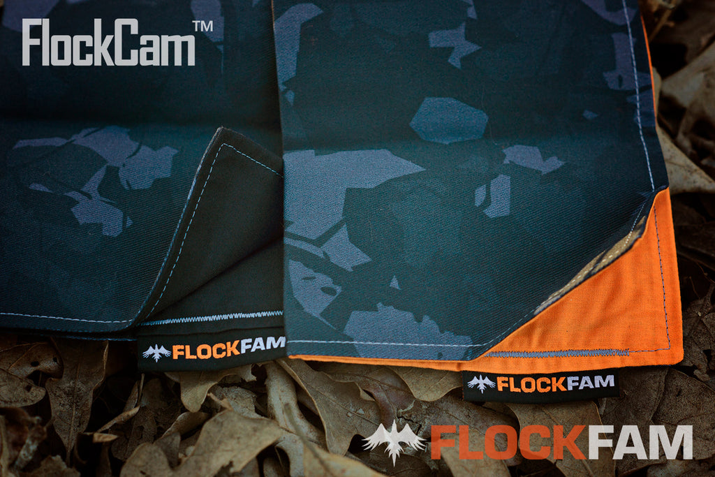 Black FlockCam Hanks