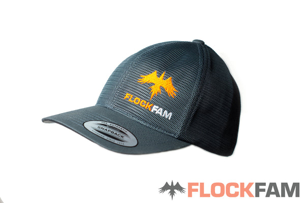"FlockFam full mesh ""summer"" cap"