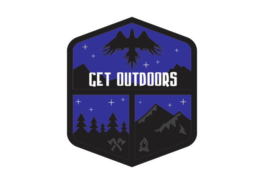 Get Outdoors Patch v2 (midnight)