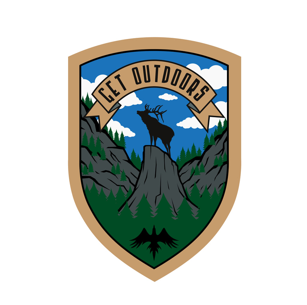 Elk Get Outdoors Patch