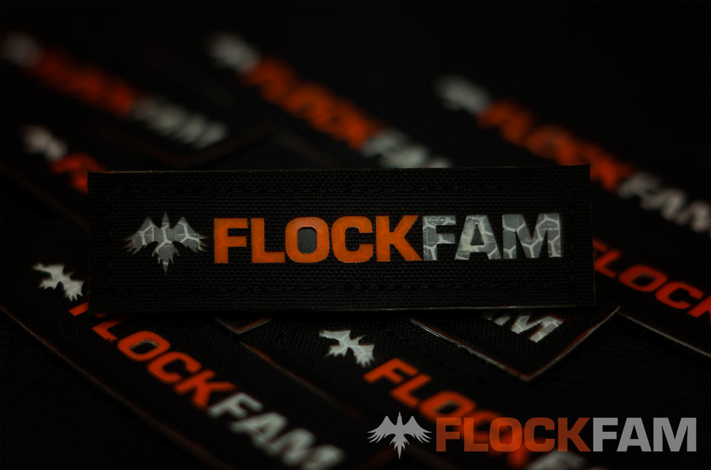 FlockFam Nametape