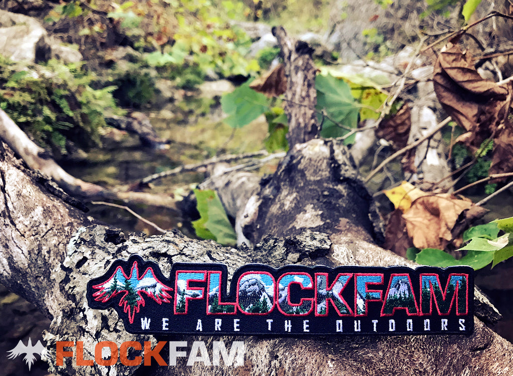 FlockFam Logo Patch