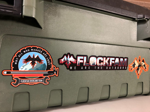 FlockFam Sticker Set #4