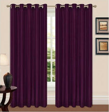 Load image into Gallery viewer, Luxury Thermal Black Out Eyelet Curtain Pair