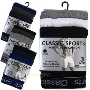 Mens Sport Cotton Boxer Shorts | istylemode