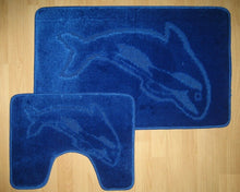 Load image into Gallery viewer, 2 Pcs Dolphin Bath Mat Set