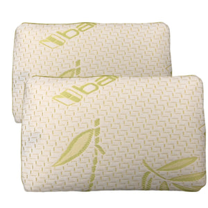 Pillows - Bamboo Memory Foam Cot Pillows - istylemode