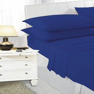 Percale Fitted Bed Mattress Sheet