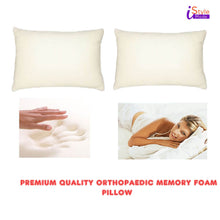 Load image into Gallery viewer, Orthopedic Memory Foam Pillow