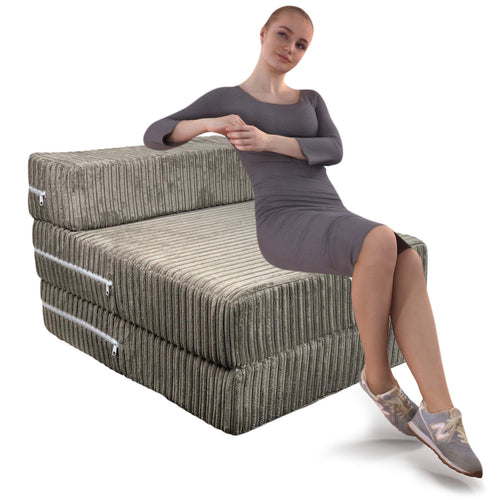 Jumbo Cord Chair Bed Sofa Z bed