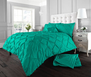 Alford Pin tuck Style Duvet Covers Luxurious Quilt Covers Bedding Sets All Sizes