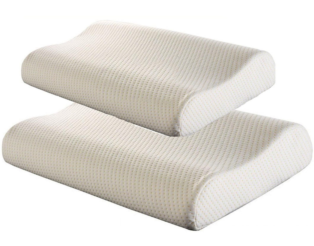 Pillows - Orthopaedic Contour Memory Foam Pillow With Free Cover - istylemode