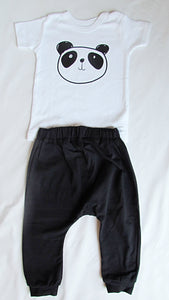 Baby Set: Black and White Panda