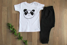 Load image into Gallery viewer, Baby Set: Black and White Panda
