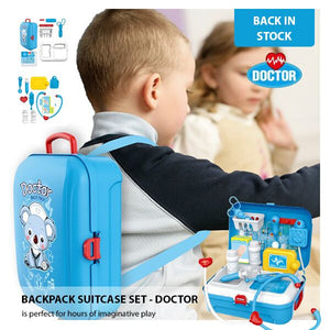 Doctor Backpack Suitcase Set - DOCTOR