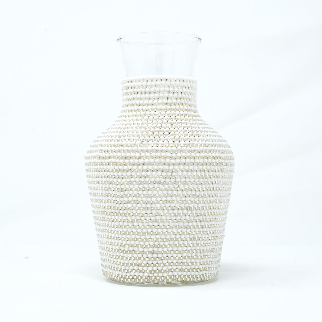 Beaded Water Carafe