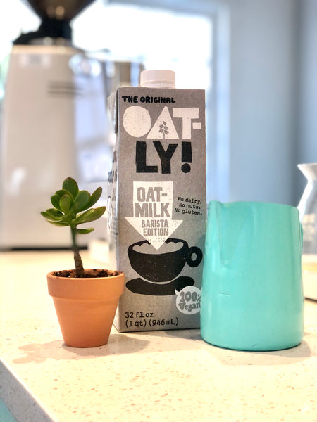 oatly oat milk coffee bar