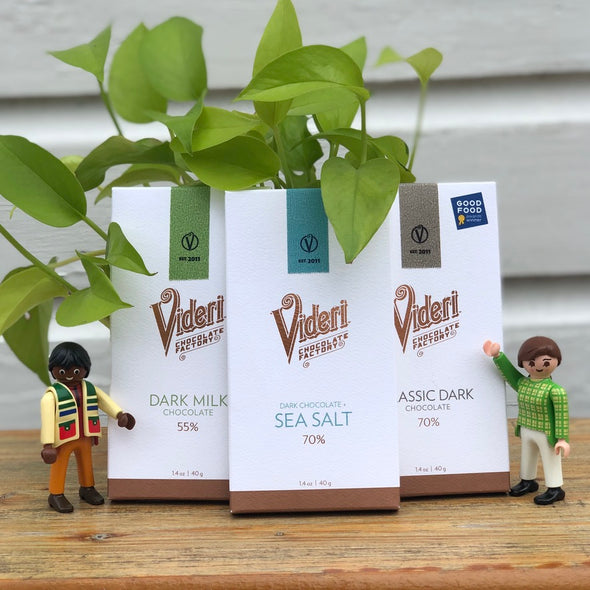 Videri Dark Milk Chocolate Bar 55%